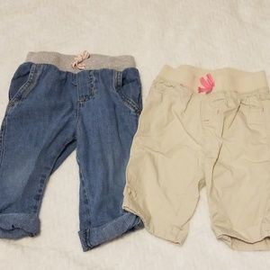 Other - 2 pairs of capris. 18m